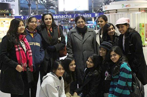 Exchange Programs   Sushila Birla Girls's School